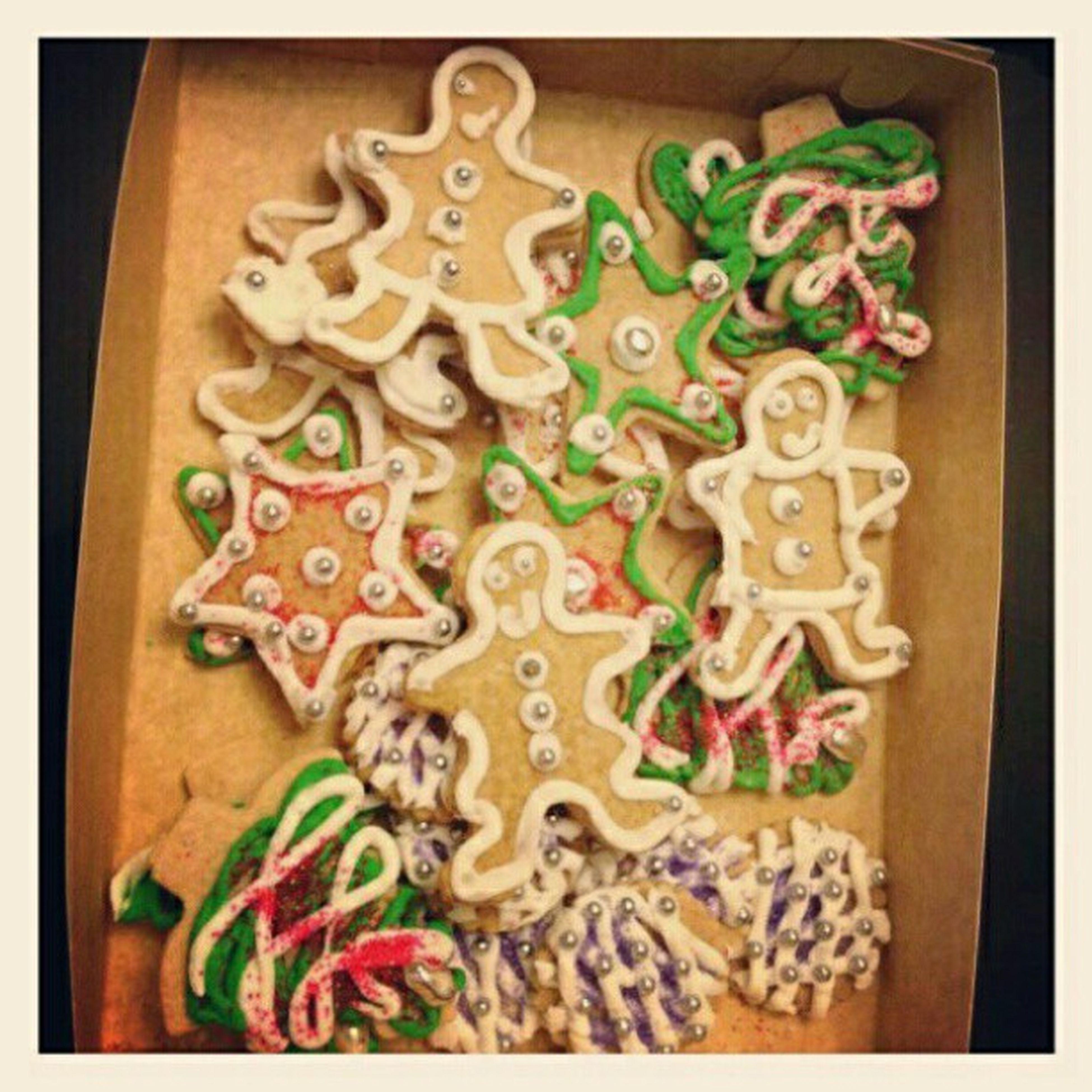 Gracias Sandra Plevisani por las mejores galletas x Xmas . Primer regalo!!