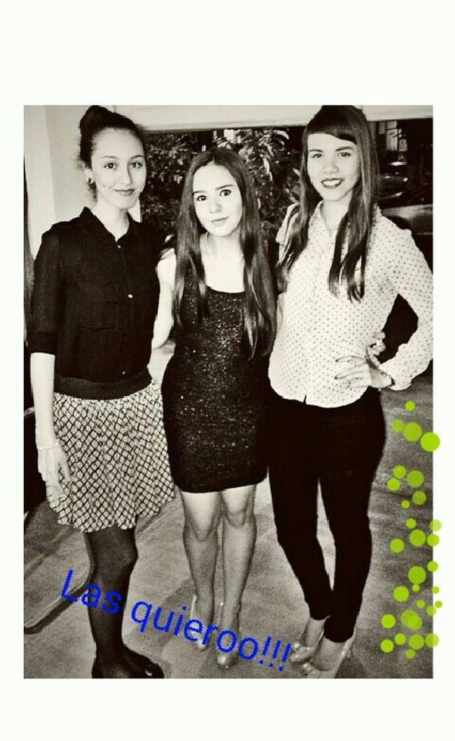 Partynight Cousin Pretty Girls Together Forever Love These Girls Eye4black&white