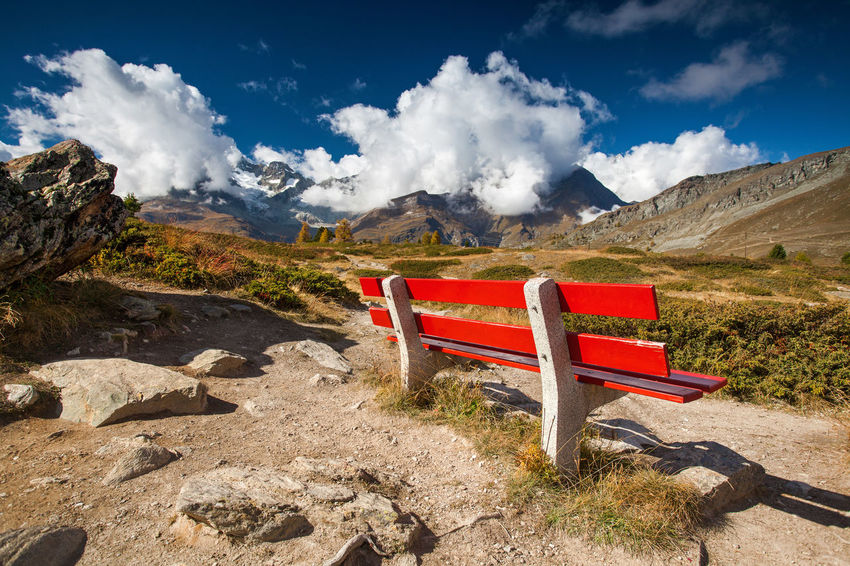 Swiss Alps in autumn. Alps Europe Landscape Mountain Nature No People Outdoors Swiss Alps Switzerland Travel