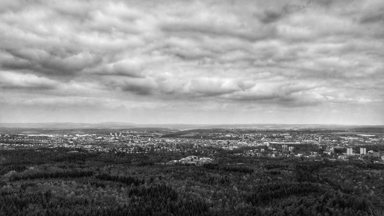 City Kaiserslautern Blackandwhite Blackandwhite Photography Clouds And Sky Clouds Forest Landscape Scenics Cityscape City Outdoors Day Huaweiphotography HuaweiP9 Huawei P9 Leica K-Town