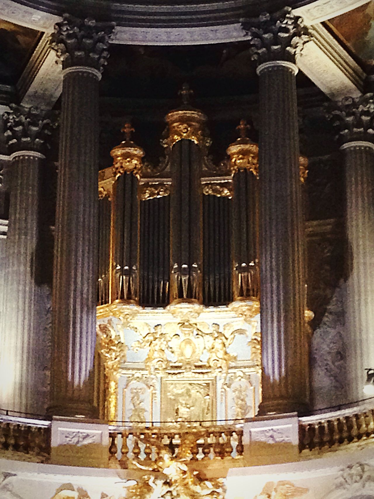 Religion Place Of Worship Indoors  Spirituality No People Statue Travel Destinations Cultures Day Historical Reenactment Patrimoine Great Organ Royal Chapelle Of Versailles