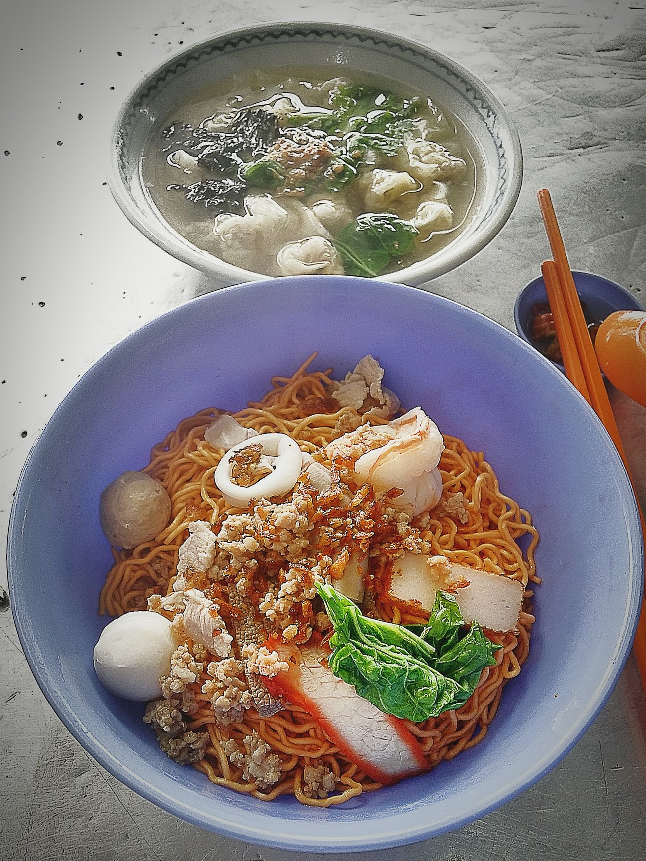 Asianfood Kolomee Wantonmee Sarawak Food Delicious ♡ Breakfast Enjoying The Food Soup Tuesdaymorning Asiancuisine Yummy♡ Happy breakfast people!😁
