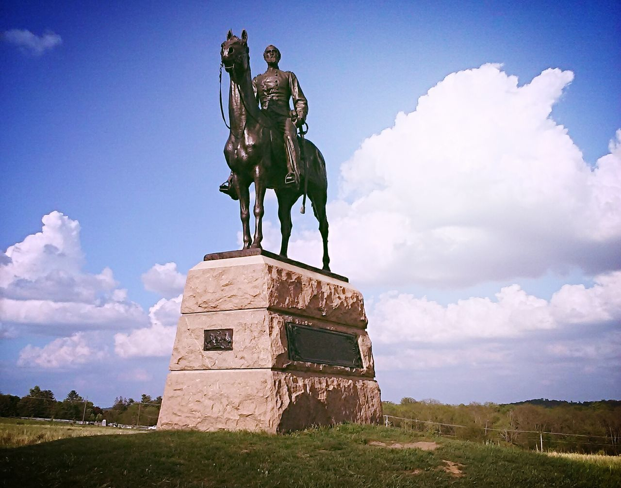 Meade Gettysburg Statues And Monuments