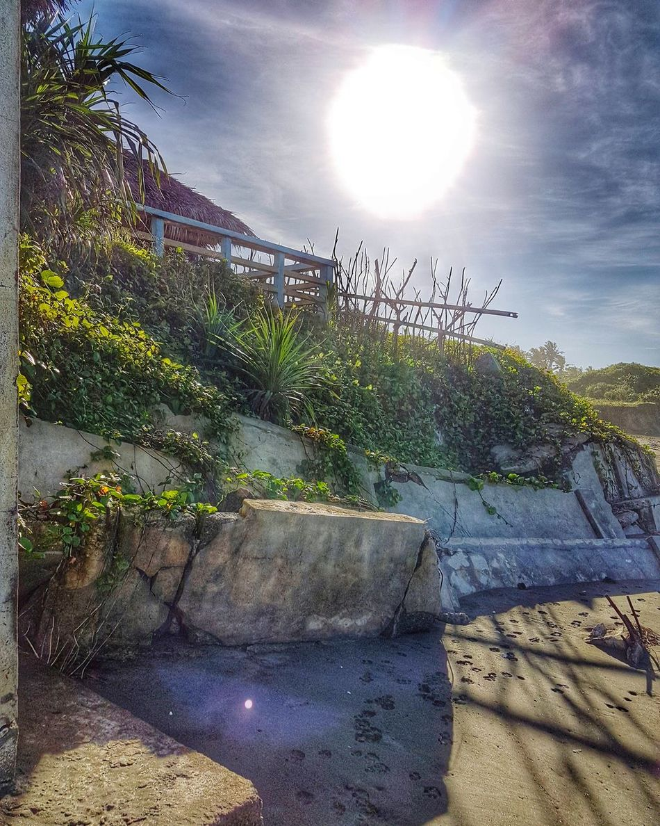 Be the sun that enlightens everyone with your goodness. Sunlight Outdoors Day Sky EyeEm Nature Lover Nature Photography TravelPhilippines Travelph Art Is Everywhere Travel Photography Beach Sand Nature