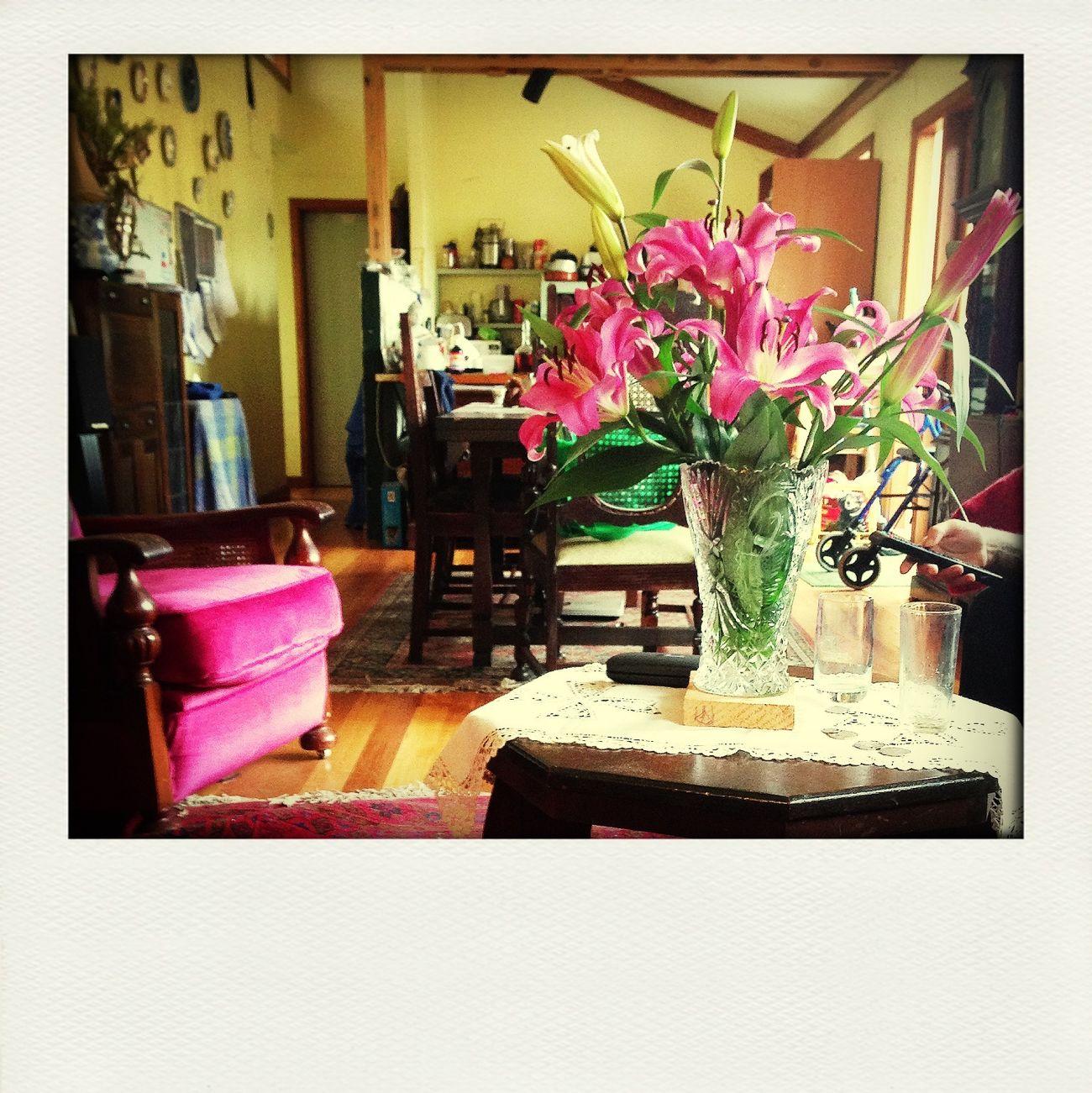 I love having fresh flowers around the house