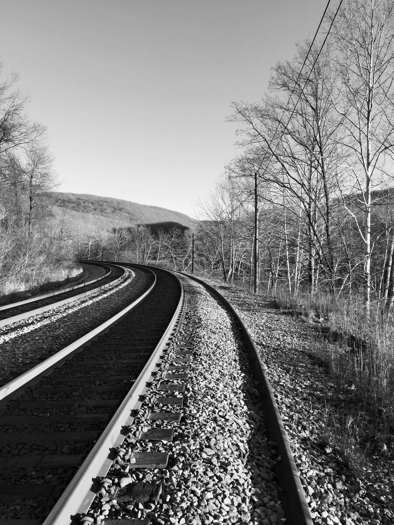 Train Tracks Traintracks Train Rail Railroad Track Railroads RailRoadTracks Railroad Photography Railroad _collection No People Outdoors Tranquil Scene Backgrounds Scenics Nature