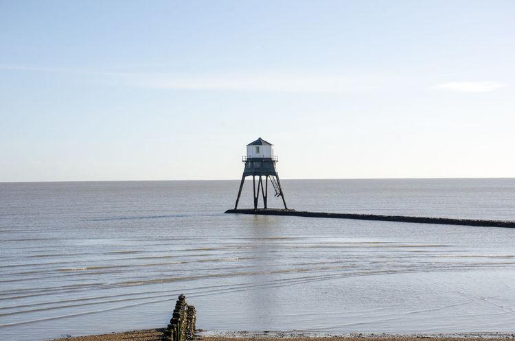 Dovercourt Lighthouse under Blue sky Architecture Clear Sky Essex Lighthouse Victorian Cast Iron Dovercourt Flat Landmark Old Sea Sky Warning