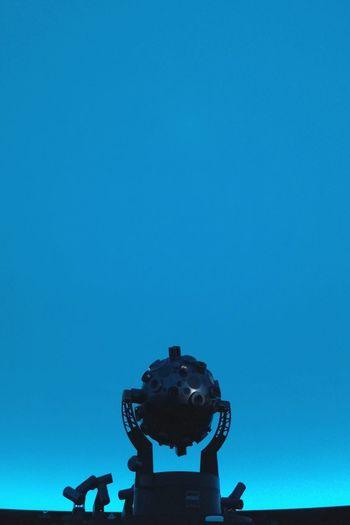 Before the stars. Planetarium Boston Shadows