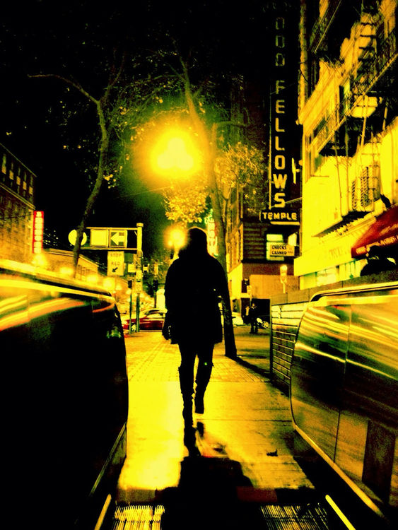 Night Walker in San Francisco by petyr campos