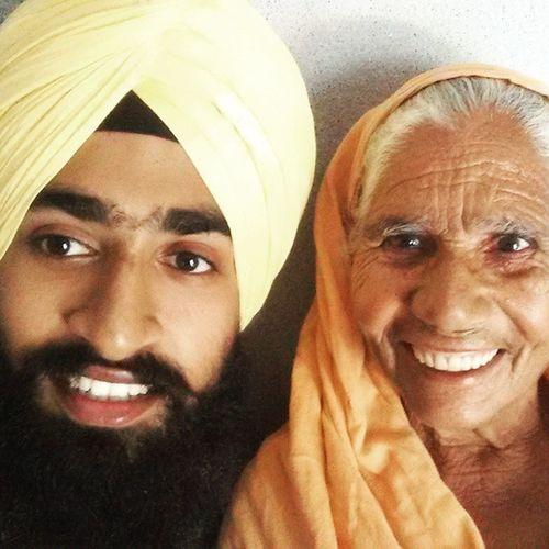 Grandma selfie👵 Dadima Grandma Bebe Bibi Punjab Gurdaspur Selfie Granny