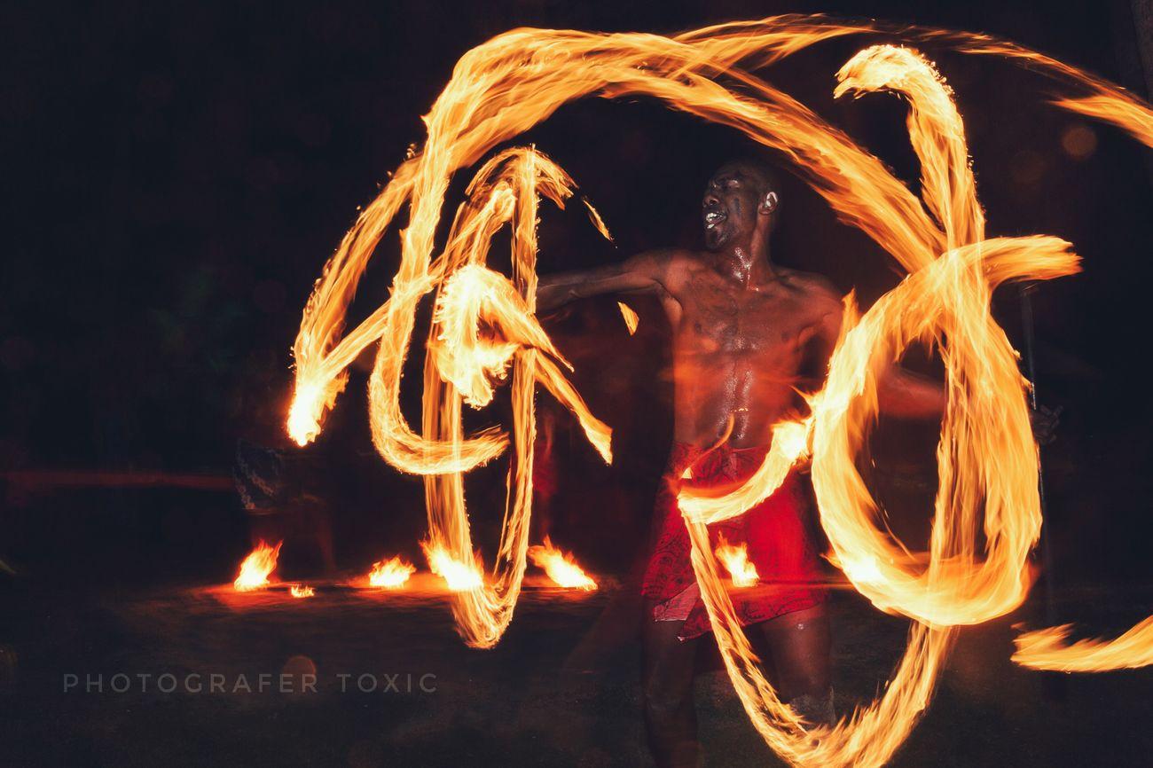 Fire Fire Dancer Night Nightphotography Night Lights Fireworks Dancer EyeEm Best Shots OpenEdit Fiji Islands