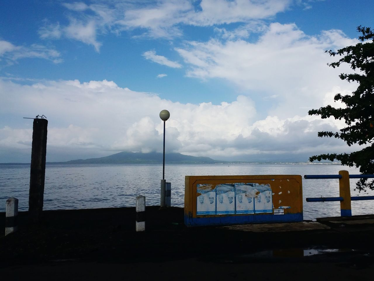 """"""" clouds """" Cloud - Sky Dramatic Sky Perspective Nature Freshness Wonderful Indonesia Street Landscape Horizon Over Water"""