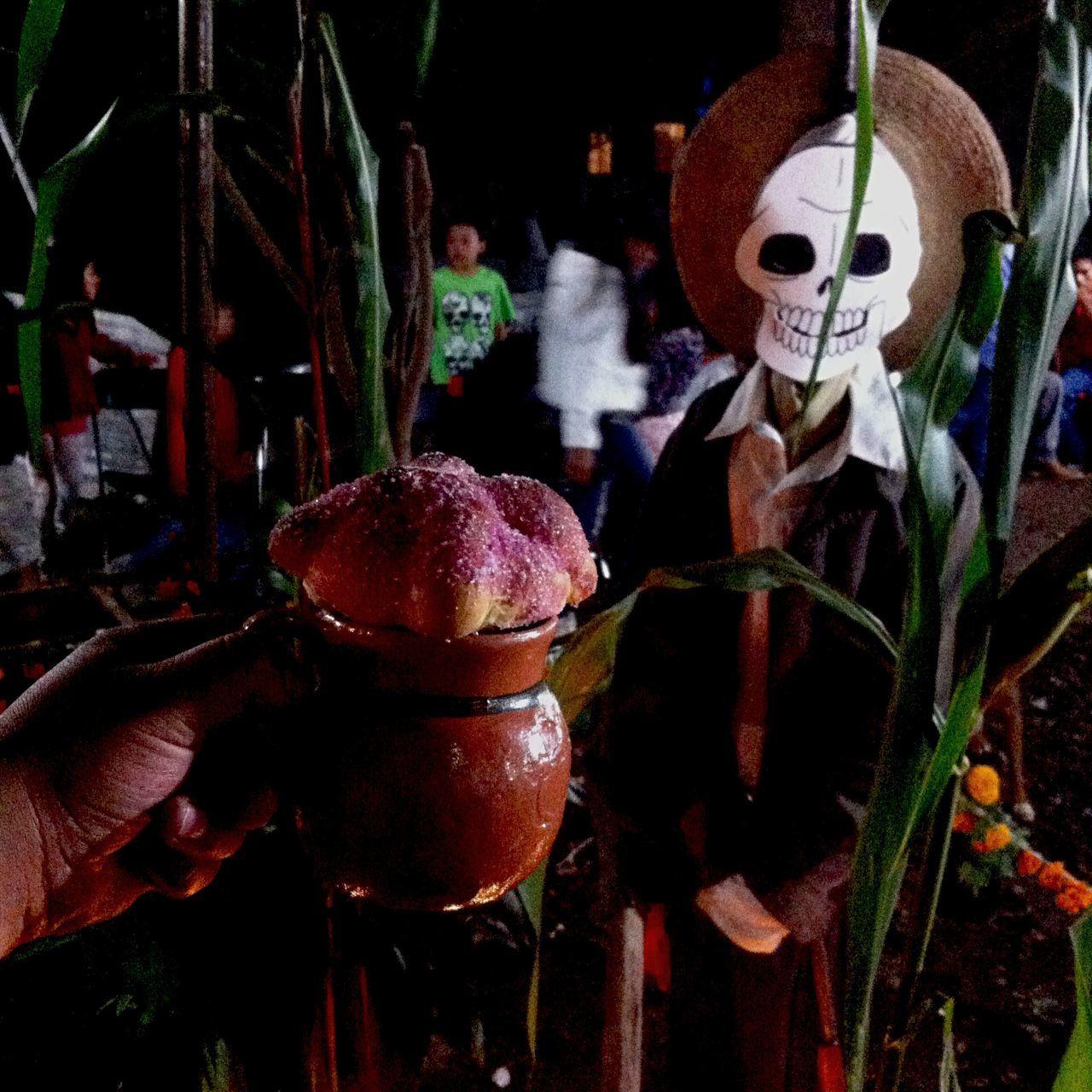 Yomochilero en Ocotepec, Morelos. Mexico