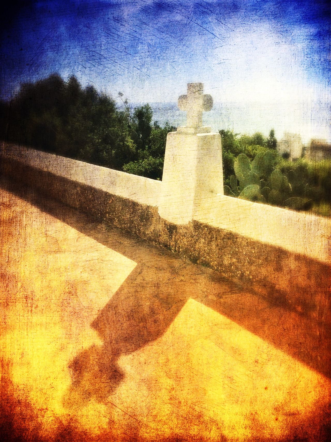 Ibiza Eivissa Mediterranean Village Religious Architecture Rural Scenes Popular Art