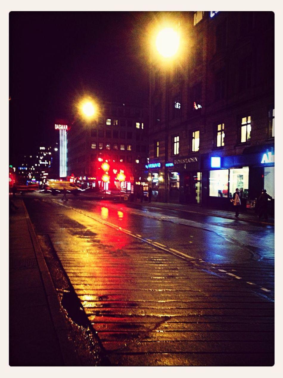 An evening in the heart of Copenhagen Wetcph Cphlights