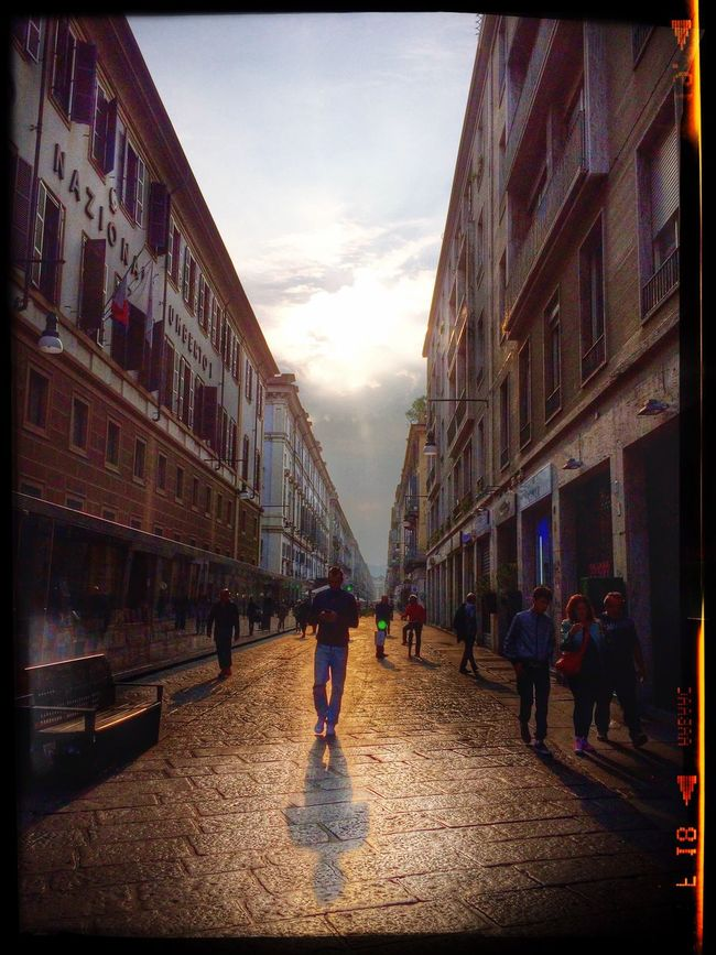 Battle Of The Cities Turin City Centro Mattina HDR IPhone Iphonegraph