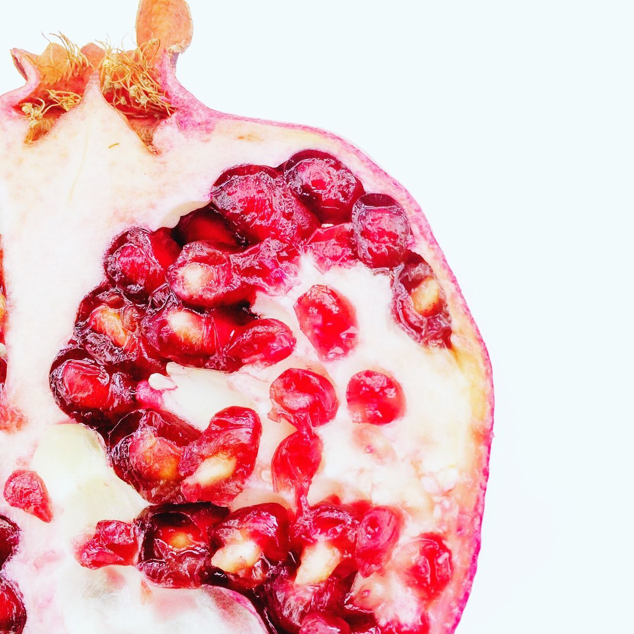 Pomegranate Pomegranate Fruit Seeds Red Pith Food Superfood Seed Pod Healthy Diet