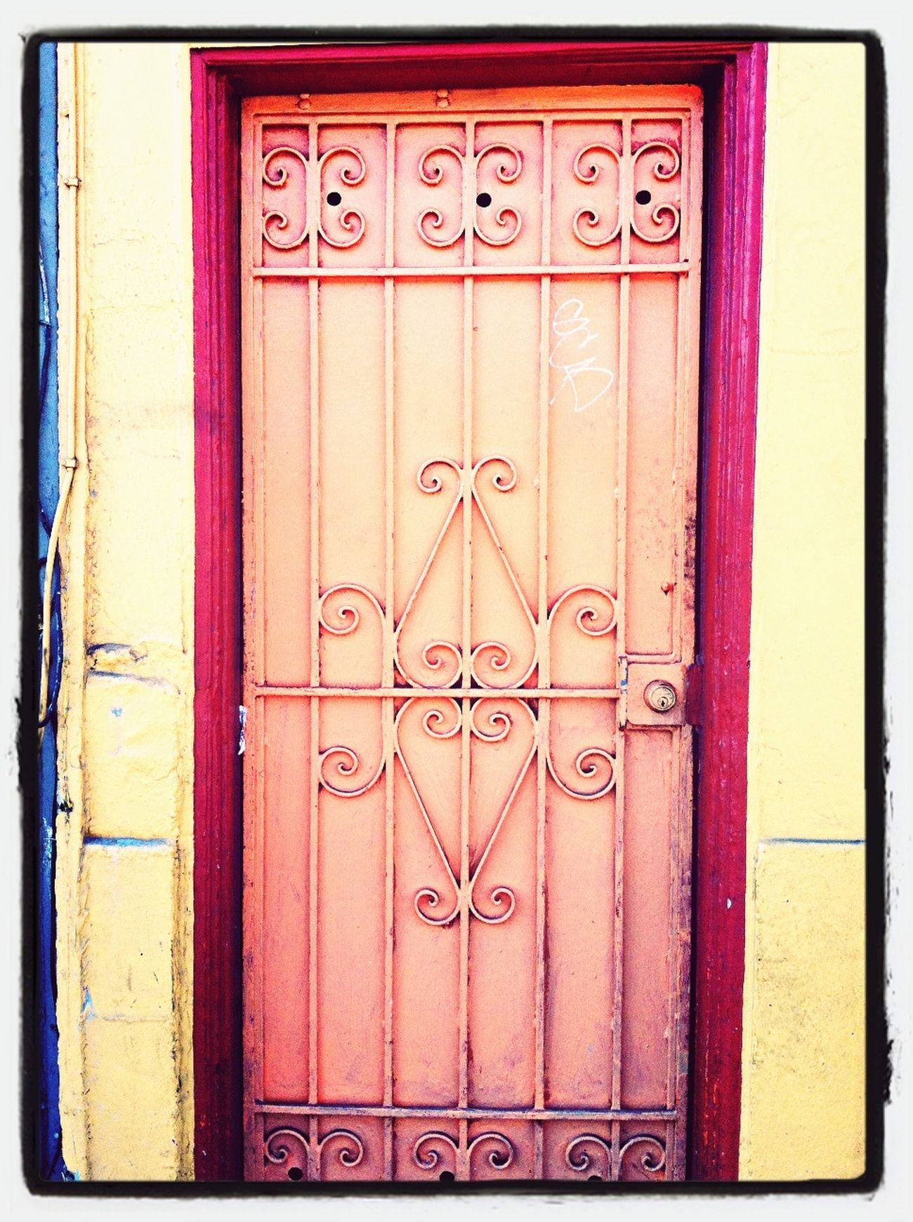 Doors EVERYWHERE ! Painted.... Bare ? Who invented the first DOOR ?