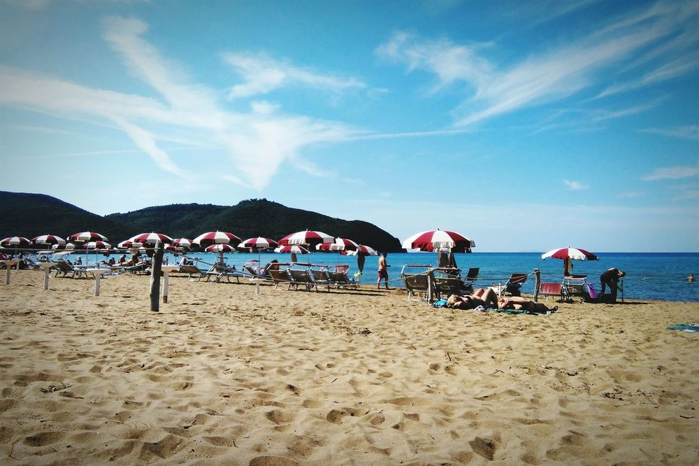 Bagno Baratti Tuscany On The Beach Summer Ending Out There First Eyeem Photo Beachphotography