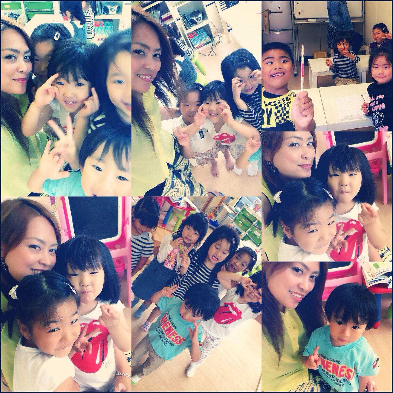 With Saturday Class Cuties(*^_^*) Enjoying Life Proud Teacher Children Tokyo