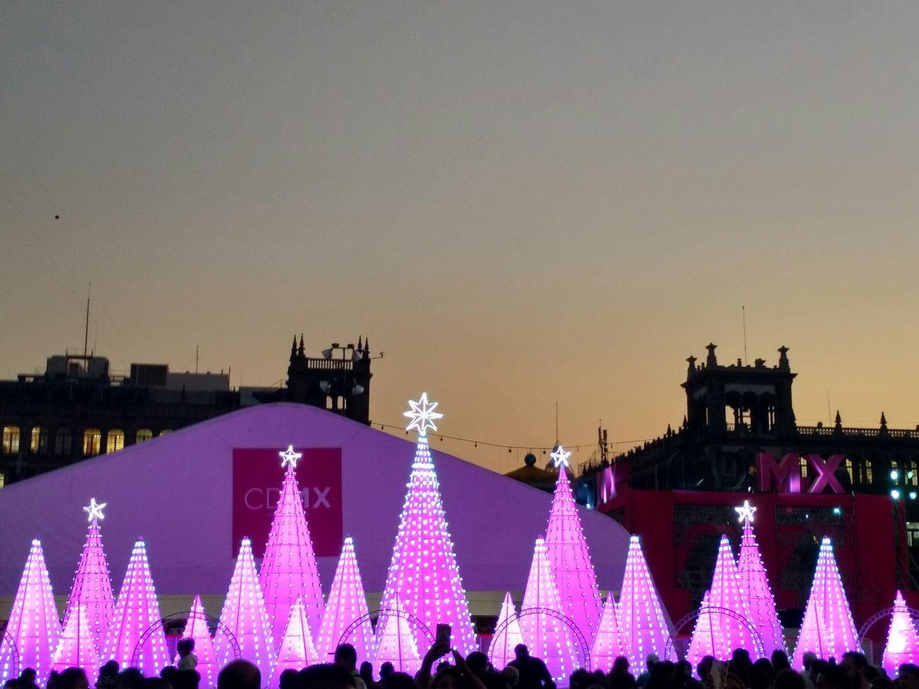 Mexico City Mexico Mexico DF Mexicocity  Mexico, D.F. Mexico Travel Navidad Iluminación Cdmx Cdmx2016 Christmas Tree Celebration New Year's Eve Night Outdoors Sky No People Annual Event Mexico City. Mexico City
