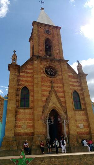 Nofilter Boyaca View Raquira Cloud - Sky Church Building Exterior Travel Destinations Iglesias