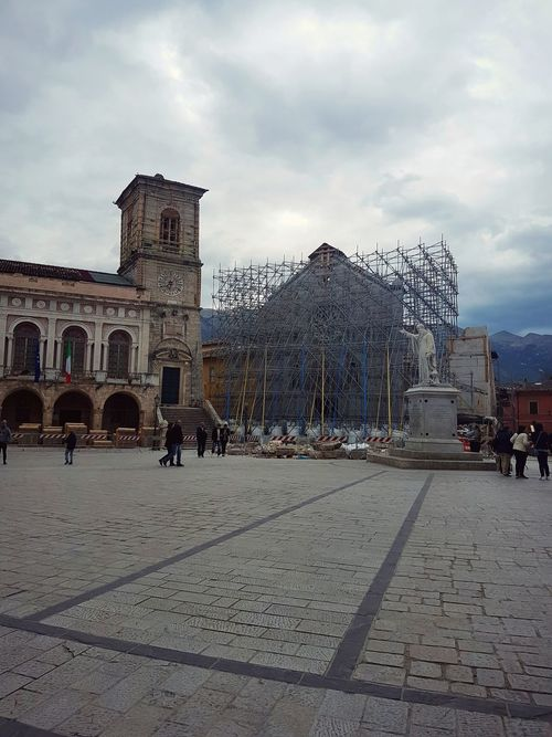 Norcia Terremoto Terremoto Centro Italia Umbria, Italy San Benedetto City Destroyed Earthquake In Italy Architecture Cloud - Sky Sky Built Structure Outdoors Building Exterior Day No People