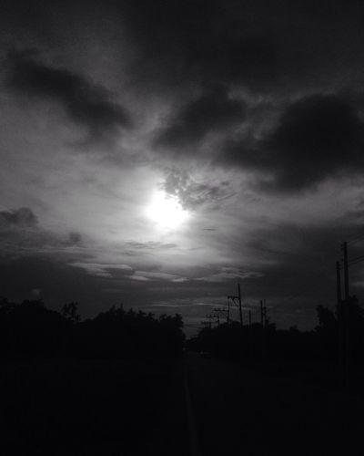 EyeEm Best Shots - Black + White Sunrise