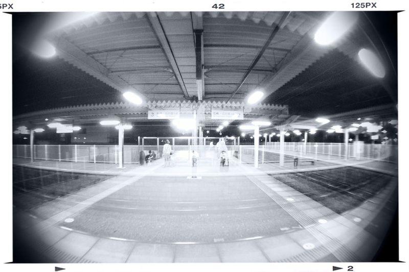 Train Station Homeward Bound Double Exposure Public Transportation