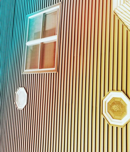 Pattern Architecture EyeEm Ready   Shapes And Forms Stripes Pattern Multi Colored Still Life Minimalism Abstract Perspective Color Palette Reflection Window