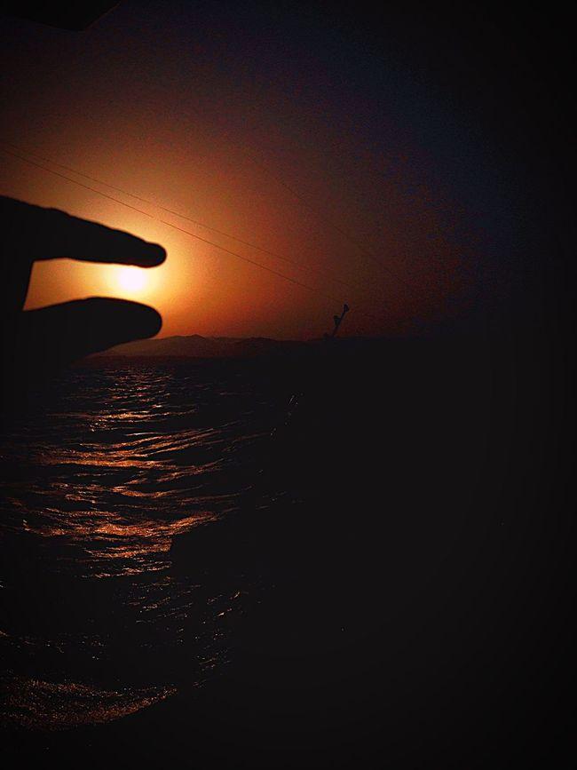 Nature On Your Doorstep Holiday POV Hanging Out Fishing Enjoying Life Sunset Fuerteventura SPAIN