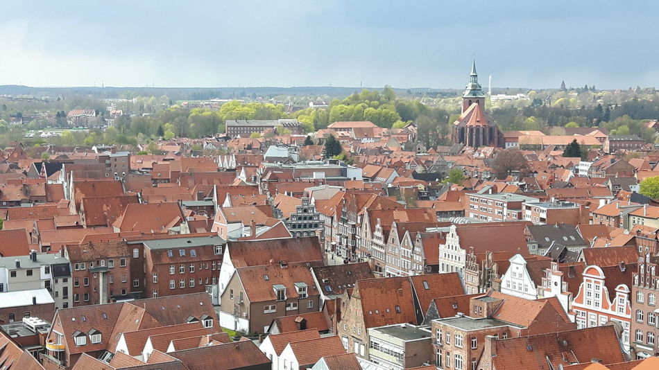 Cityscape Scenic Lookout Outdoors Architecture Urban Skyline Roof Travel Destinations Lüneburg Built Structure Architecture City No People EyeEmNewHere