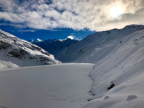 Snowcapped Mountain Winter Moiry Swiss Mountains Valais Valdanniviers Grimentz Zinal Snow Winter Mountain Shades Of Winter Shades Of Winter
