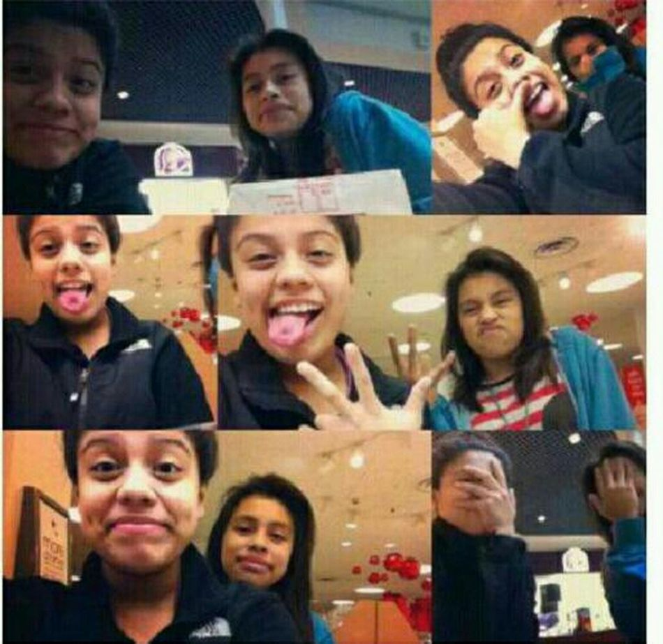 Me and my twin I love this Girl <3