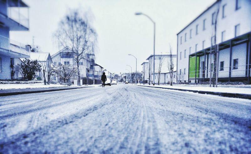 Snow Snowy Scene Snowy Street Mobilephotography Oneplus One Winter Cold Winter ❄⛄