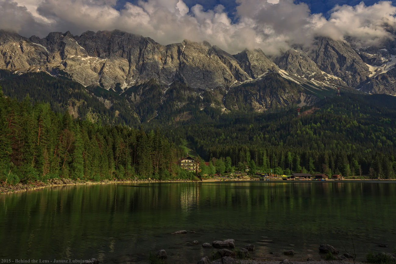 Alps Bavaria Clouds Landscapes Mountains Outdoors Reflection Relaxing Sky Stones Travel Traveling Trees Water Water Reflections