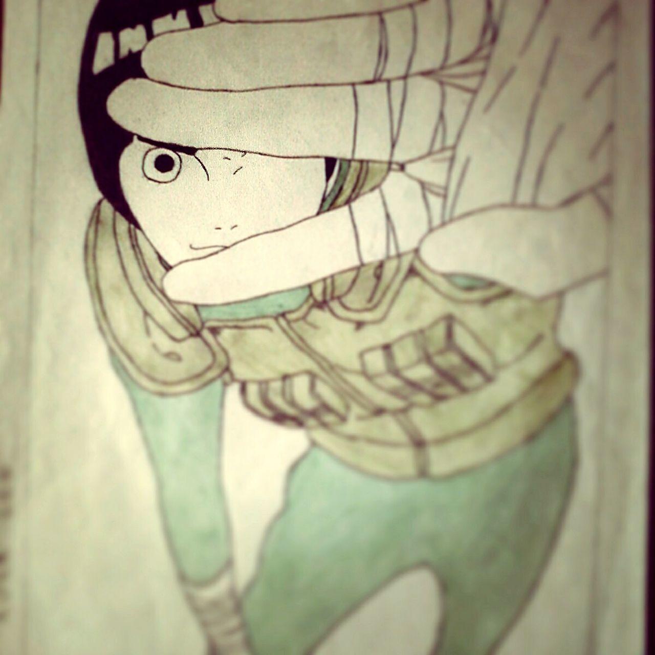 Drawing Drawing By Me Drawing, Painting, Artwork Narutofan Narutolovers Narutoshippuden Narutodraw Rocklee