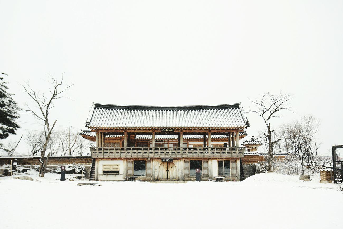 Korean-style House Snowy Day Snow