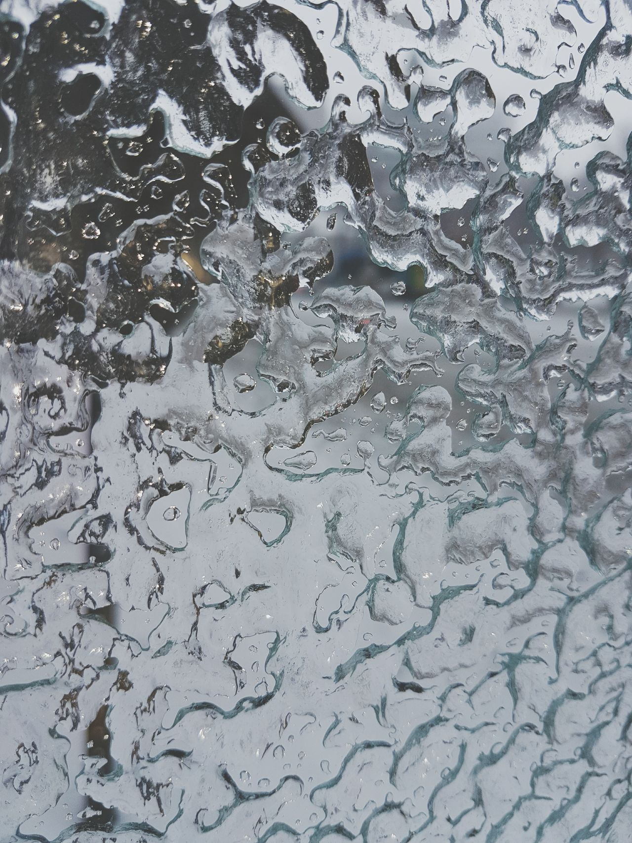 Looking through the window... Ice Ice Age Icy Day Icy Coating Icy Condition Icy Window Glace Montreal, Canada Icy Rain Freezing Rain Winter Winter 2017 Window View Textured  Textures And Surfaces