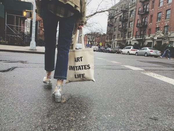 Totebag On The Move