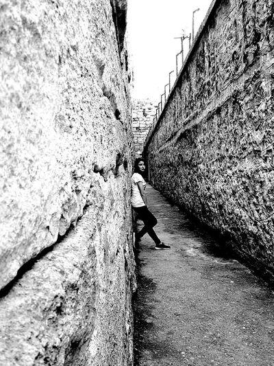 Wall Wall Photography My Friend ❤ Photography Historic Prison Black & White Blackandwhite Photography Black&white Photo