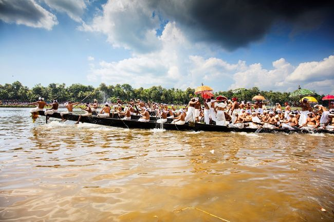 Boat Boat Race  Boat Races Boats Cloud Clouds Clouds And Sky Crowd Festival Festive Mood Festive Season India Kerala Kerala India Kerala The Gods Own Country ;) Race River Sky Water
