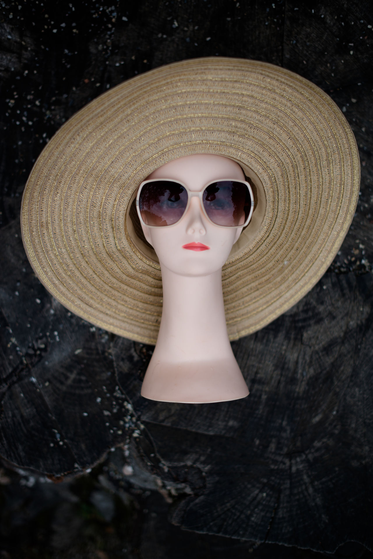 Close-up Day Fashion Hat Human Representation Mannequin No People Outdoors Retail  Store Sunglasses