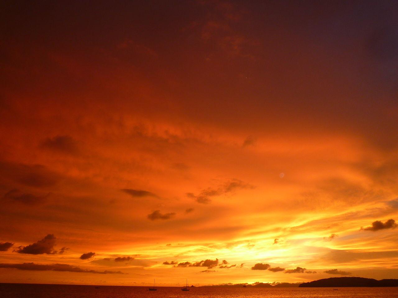 Beautiful stock photos of sunset, Beauty In Nature, Cloud - Sky, Horizon Over Water, Idyllic