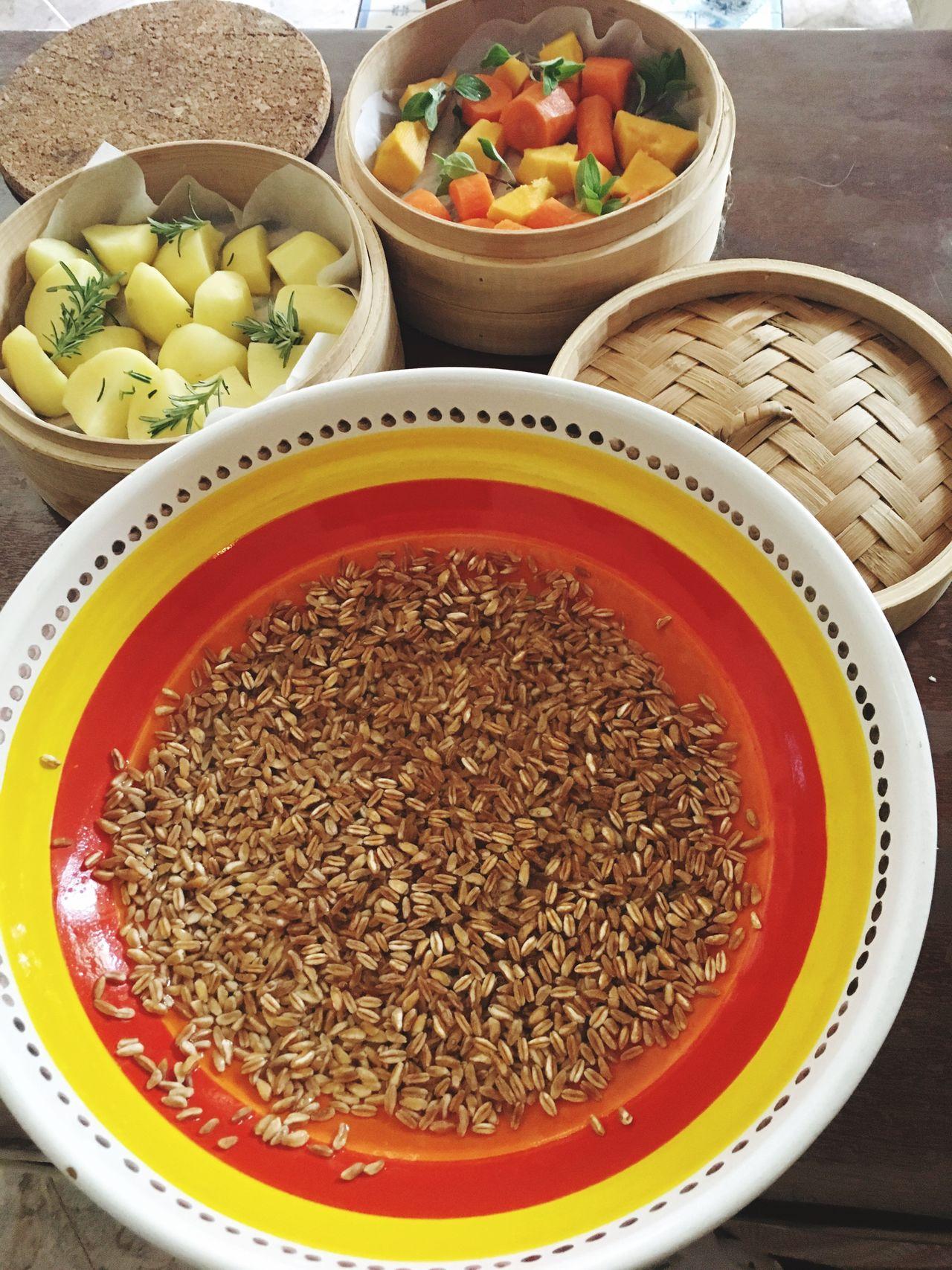 Food Ingredient Healthy Eating Vegetarian Food Farro Cotturavapore