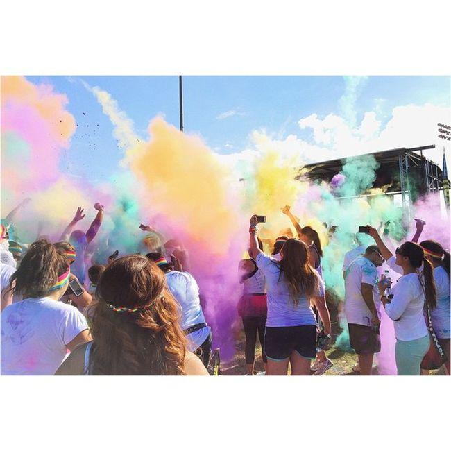 This was fun! 😊 Tcrpomona Thecolorrun2014 Pomona Experience fun vsco