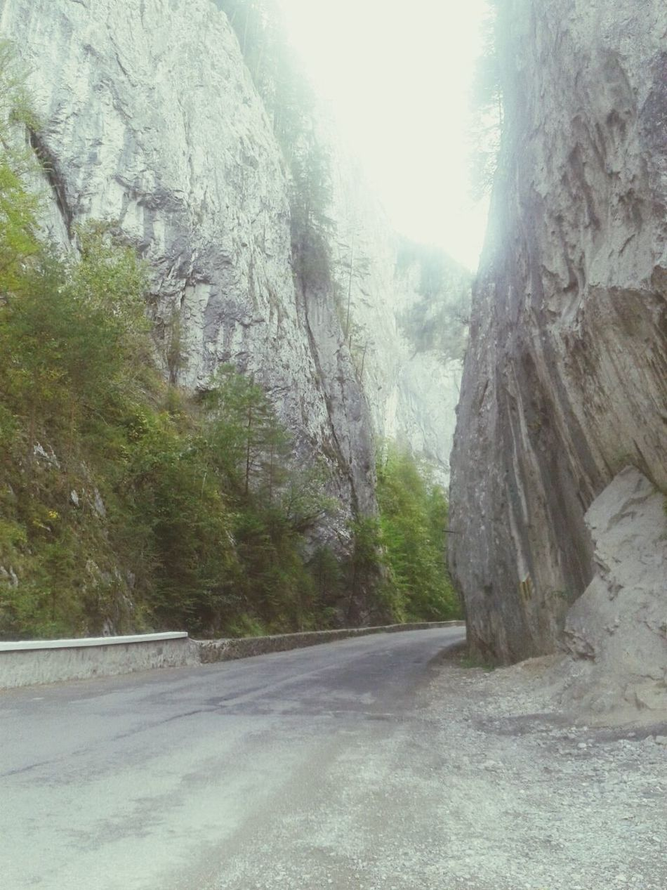 Passed through the mountains again. Tomorrow I will be back home. Started to miss my black sea and town. Mountains Carpati Munti Rocks