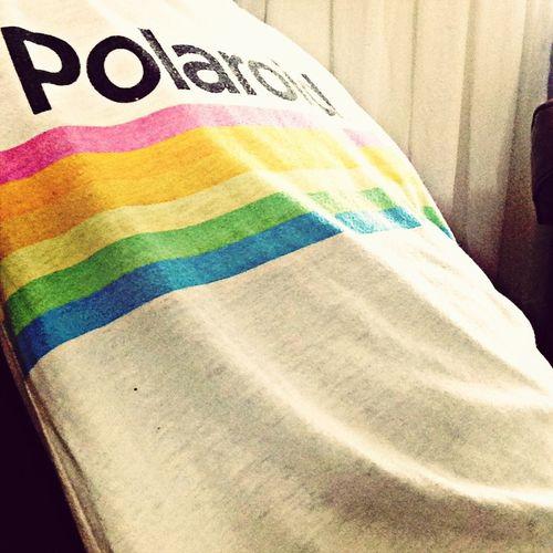 Color Portrait Self Portrait Rainbow Polaroid