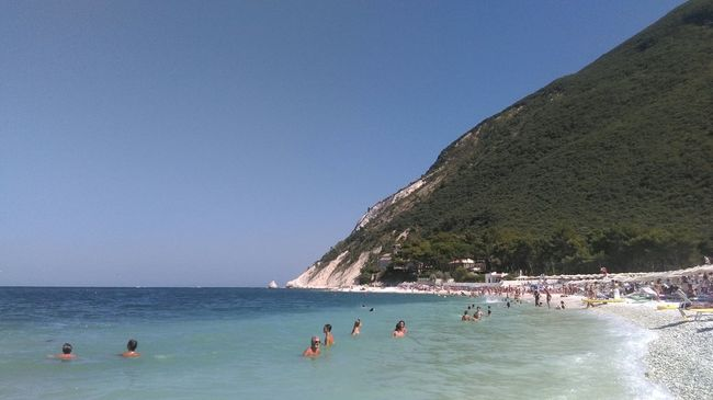 Portonovo Sea Conero Beach Life Is A Beach