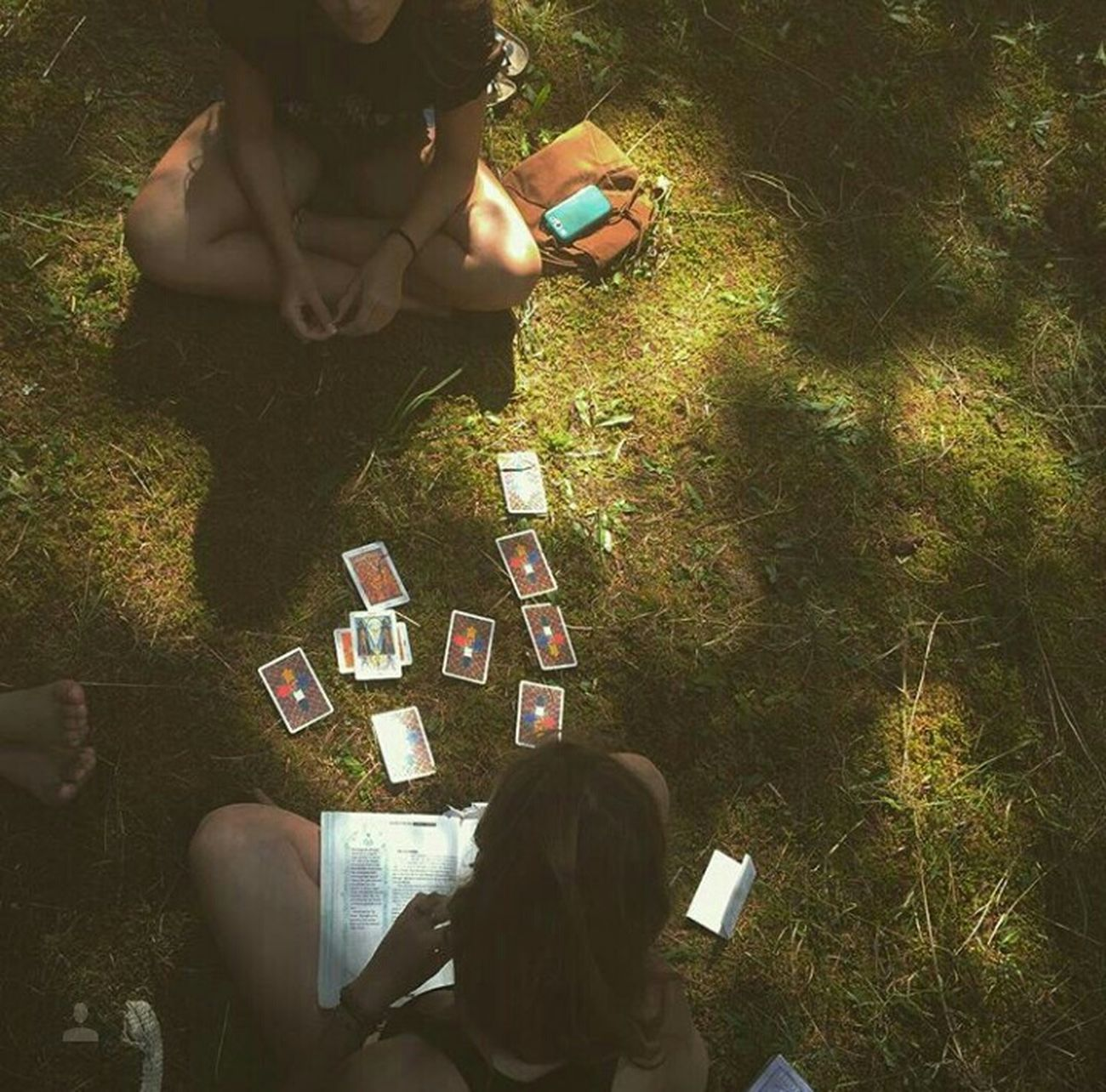 Tarot Tarotreadings Energy Forest Quadra